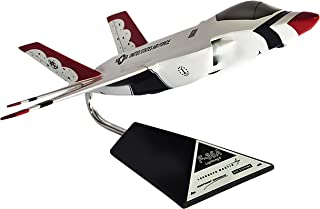 Mastercraft Collection F-35A JSF Thunderbird Jet Plane Airplane Model Scale: 1/40
