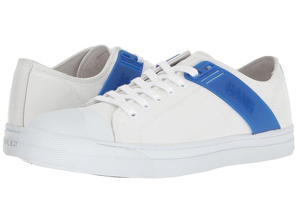 Neil Barrett Gang Sneaker (White/Cobalt) Men