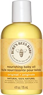 Burt's Bees Baby 100% Natural Nourishing Baby Oil Baby Skin Care - 115ml Bottle