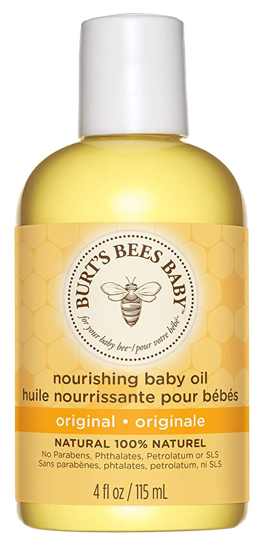 ビザ憎しみ山岳Burts Bees Baby Bee Nourishing Oil 4 fl oz/Burts??????????????????4?????