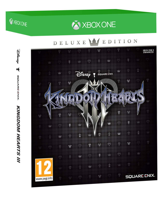Kingdom Hearts III - Deluxe Edition - Xbox One [Importación ...
