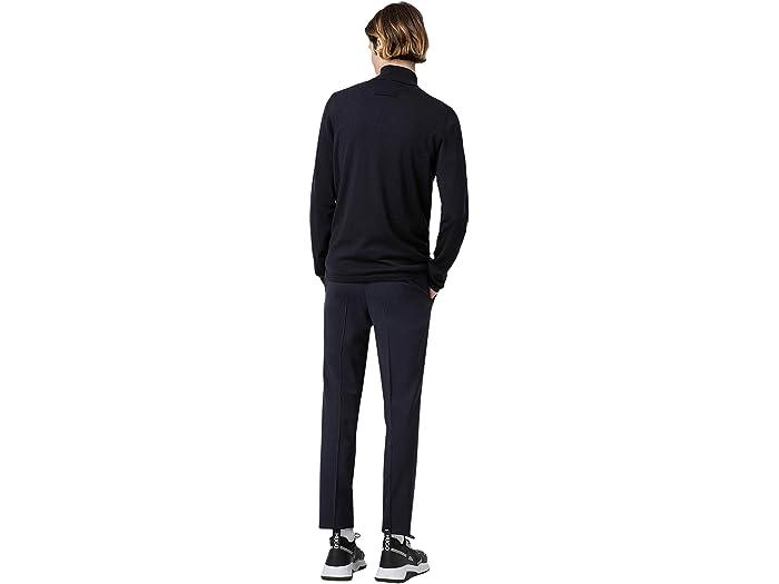 Boss Hugo Hartleys Extra-slim Fit Wool Trousers By Dark Blue Pants