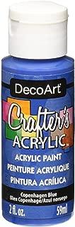 DecoArt Crafter's Acrylic Paint, 2-Ounce, Copenhagen Blue