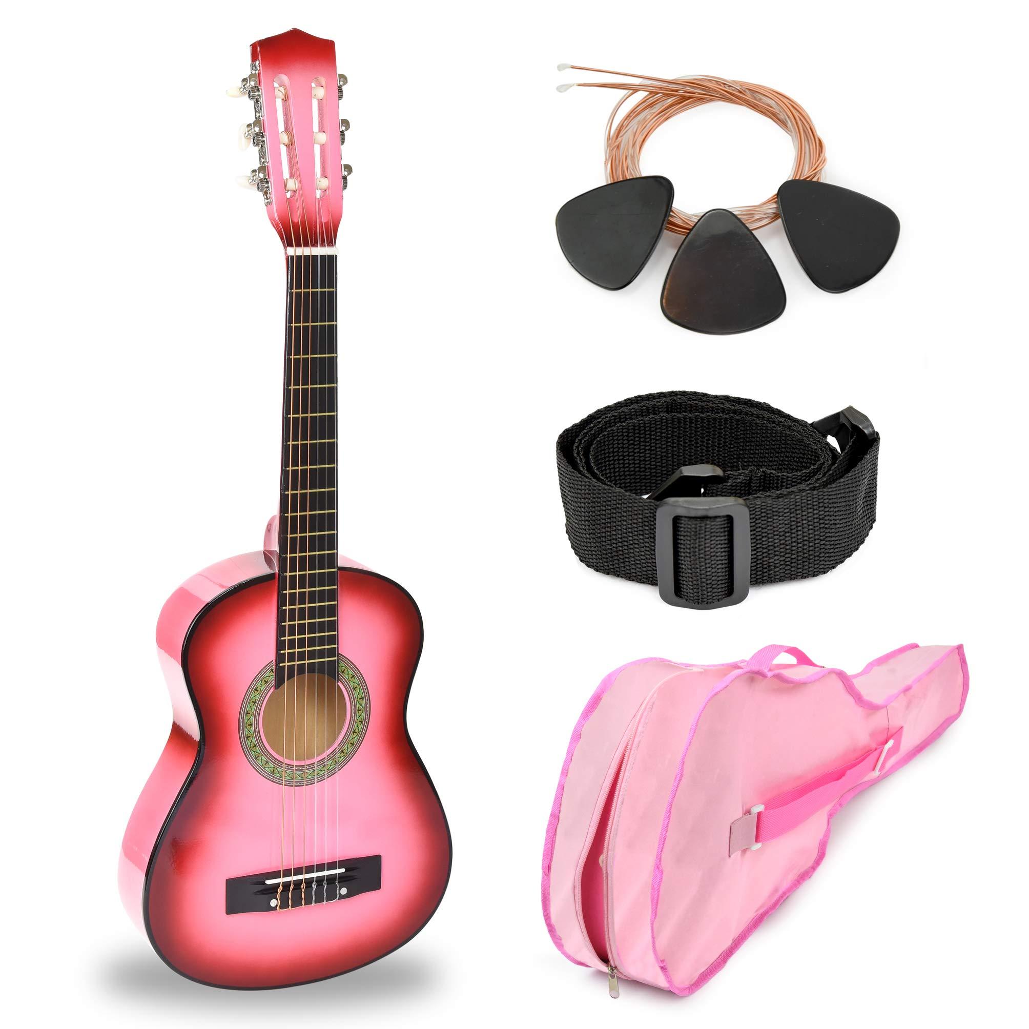 Pink Guitar Accessories Girls Beginners