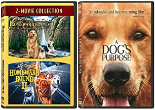 Dog Movie Triple Feature Collection: Homeward Bound 1-2 + A Dog's Purpose