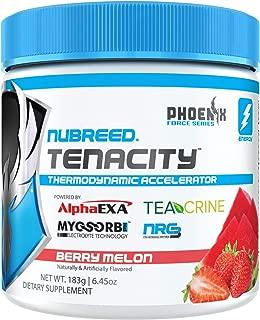Nubreed Tenacity   Berry Melon   40 Servings   Keto Friendly   Zero Sugar   Zero Carbs   NO Artifiical Dyes or Colors   Appetite Suppressant   Clean Energy   Mental Focus   Tastes Great