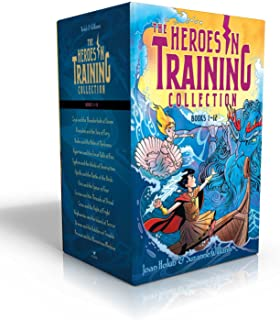 Heroes in Training Olympian Collection Books 1-12: Zeus and the Thunderbolt of Doom; Poseidon and the Sea of Fury; Hades and the Helm of Darkness; ... the Birds; Ares and the Spear of Fear; etc.