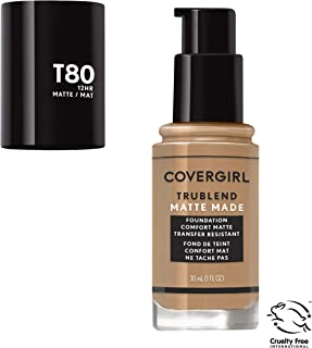 Covergirl TruBlend Matte Made Liquid Foundation, Toasted Caramel