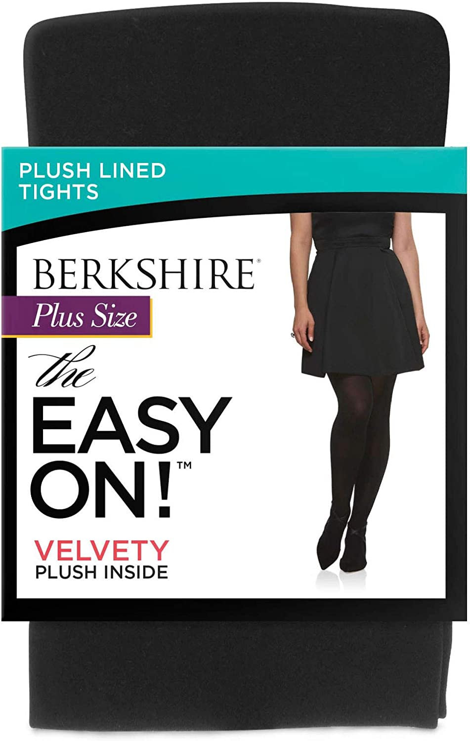 Berkshire womens The Easy on Fleece Plush Lined Tights Tights