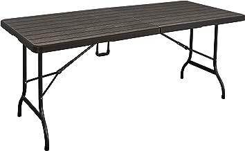 لاني كلاس طاولة بلاستيكية قابلة للطي - SZK180 BROWN