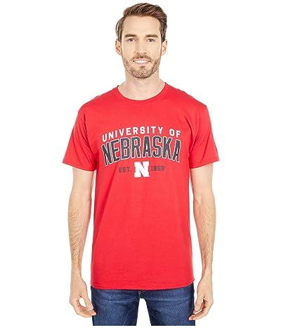Champion College Nebraska Cornhuskers Jersey Tee (Scarlet 3) Men