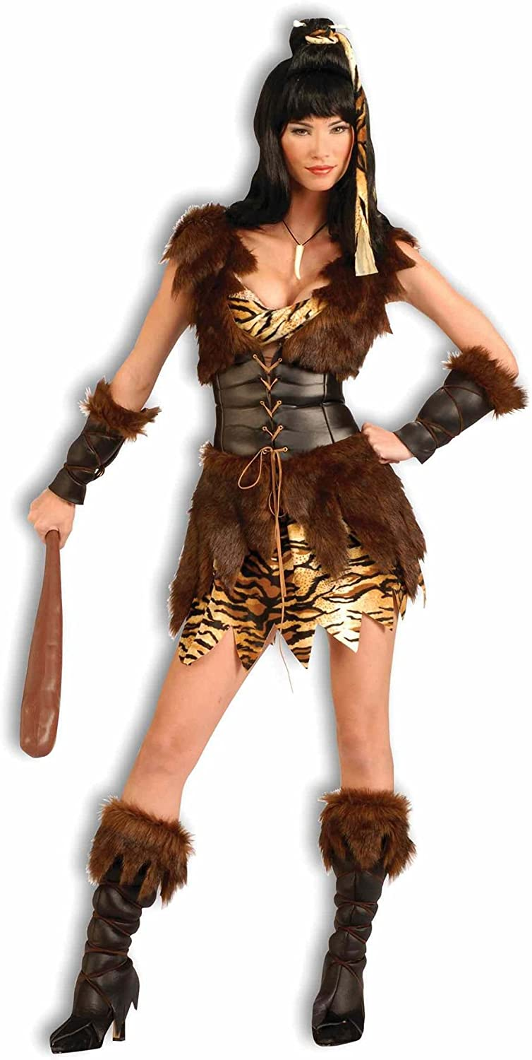 diseño simple y generoso Adult Sexy Cutie Cave Girl Costume Costume Costume Fancy Dress  envío gratuito a nivel mundial