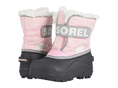 SOREL Kids Snow Commander (Toddler/Little Kid) (Cupid/Dove 1) Girls Shoes