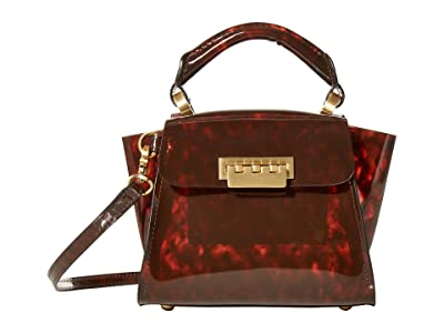 ZAC Zac Posen Eartha Mini Top-Handle Crossbody PVC (Tortoise Glass) Handbags