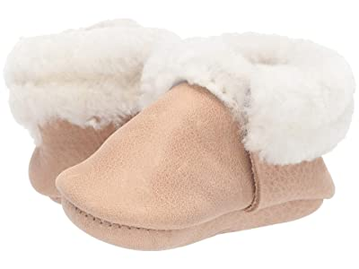 Freshly Picked Weathered Brown Shearling Moccasin (Infant/Toddler) (Brown) Kid