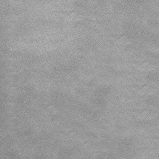 Deshome Alessia 10 metri - Tessuto al metro Microfibra Idrorepellente per divani, cuscini, complementi d'arredo (Grigio ar...