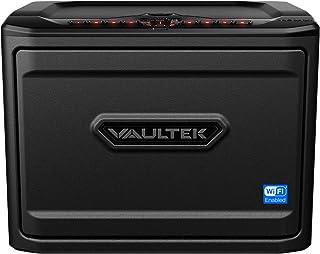Vaultek MX Wi-Fi Safe High Capacity Smart Handgun Safe Multiple Pistol Storage Smart Safe with Auto-Open Door and Rechargeable Battery