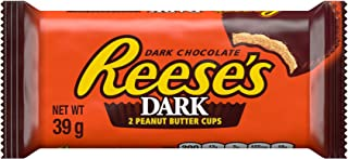 Reese's Peanut Butter Cups, 2 Dark Chocolate Flavour Cups, 39 g