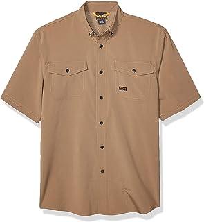 ARIAT Men's Rebar Short Sleeve Made Tough Vent Shirt