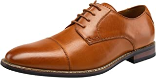 JOUSEN Men's Dress Shoes Classic Mens Oxfords Formal Business Shoes Modern Derby Oxford