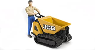 Bruder Jcb Dumper Htd-5 and Construction Worker (Colors May Vary)