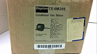 Dayton 4M205 Fan Motor, PSC, 1/4 HP, 1075, 208-230v, 48YZ