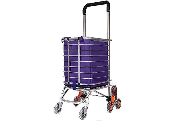 d1c7c704e66a Best folding shopping carts for stairs | Amazon.com