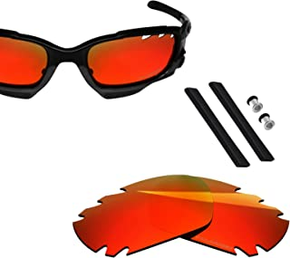 BlazerBuck Polarized Lenses & Sock Kit for Oakley Jawbone Racing Jacket