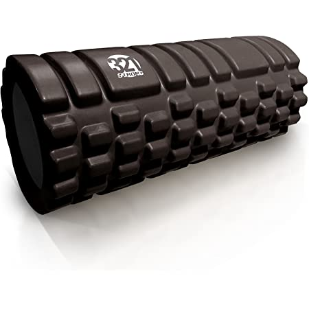 Dense Massaging Bar for Reducing Pain CGKUITER High-Density Round Muscle Foam Roller Exercise Foam Roller for Muscles