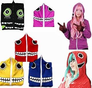 LOCK&LOCK 衣装ボーカロイドMatoryoshikaパーカー手袋ミクルカ可夢偉は久保リンレンVOCALOID(ブルー、L)であります L 青