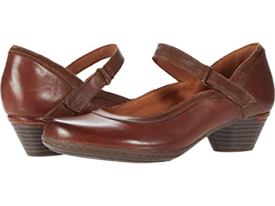 Cobb Hill Laurel Mary Jane (Brown Leather) Women