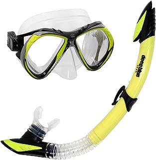 Deep Blue Gear Del Sol 2 Diving Mask and Semi-Dry Snorkel Set