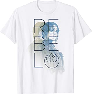 Star Wars Rogue One Jyn Erso Rebel Repeater Graphic T-Shirt