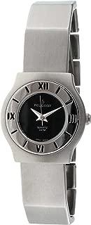 Peugeot Women's 729BK Silver-Tone Bracelet Watch