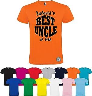 T-shirt personalizzata BEST UNCLE diversi colori disponibili