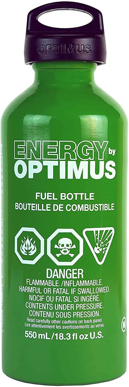 Optimus Regular dealer Fuel Bottle with Fees free!! Child Safe .6-Liter Cap