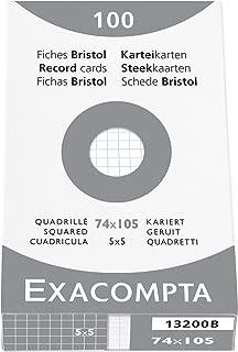 Rosa Exacompta 13838B Cartoncini Bristol 21.20 x 15 x 2.50 cm