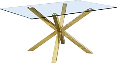 Best Quality Furniture Dining Table Only Gold