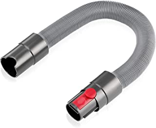 isinlive Flexible Extension Hose for Dyson V11 V10 V8 V7 Cordless Stick Vacuum Cleaner Accessory Attachment Replacement with Quick Release Button (20.5 to 63 Inches)