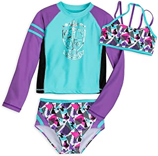 Disney Princess Three-Piece Swimwear Set for Girls