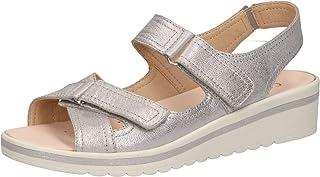 CAPRICE 28210-22 Femme Sandales compensées,Sandales,Sandales compensées,Chaussures d'été,Confortable,Plat,Semelle intérieu...