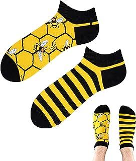 TODO COLOURS - Calcetines unisex con diseño de abejas