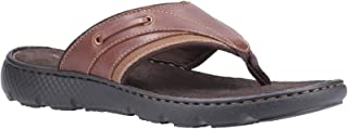 Hush Puppies Mens Connor Leather Flip Flop