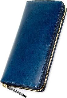 Eredità(エレディータ) 長財布 革の王様ブッテーロレザー ラウンドファスナー YKKエクセラ メンズ 日本製 WL10