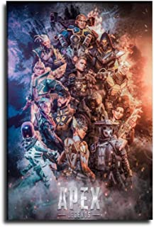UNFRAMED Apex Legends Video Games Travel Poster Wall Art Kings Canyon Solace