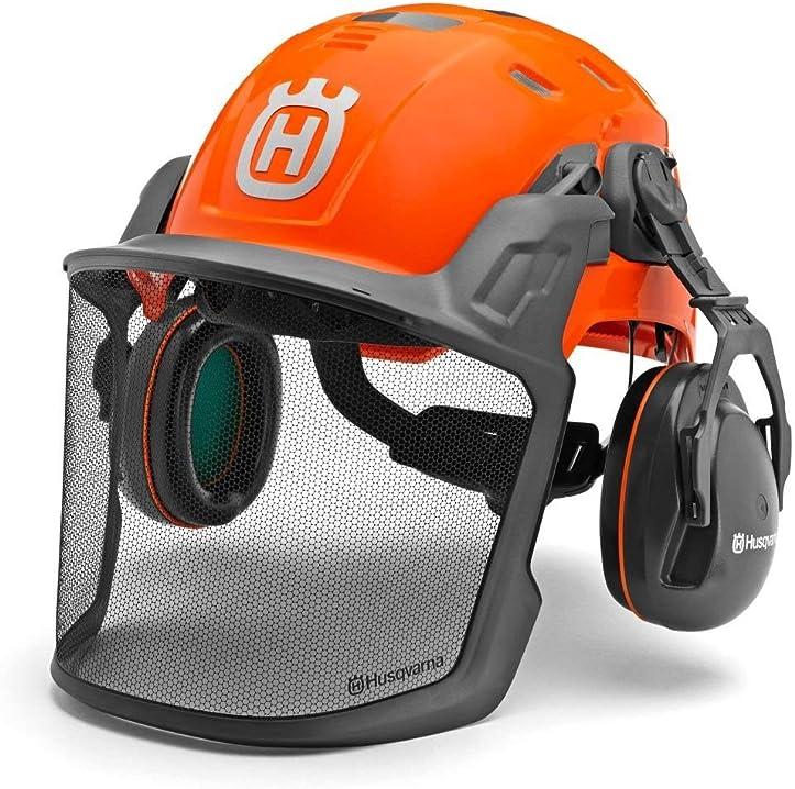 Casco di sicurezza tecnico forestale husqvarna 585058401