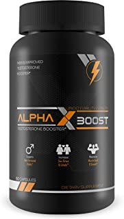 Alpha X Boost- Optimum Performance Technology- Natural Testosterone Booster- Replenish Natural Test Levels- Safe and Effective- Build Muscle- Burn Fat- Boost Metabolism
