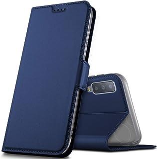 dbc4c4e46a9 Geemai Samsung Galaxy A7 2018 Funda, Slim Case Protectora PU Funda  Multi-ángulo a