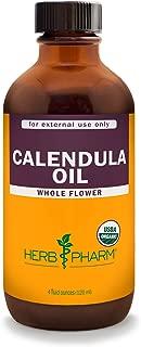 Herb Pharm Certified Organic Calendula Oil - 4 Ounce