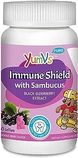 Yum V's Immune Shield with Sambucus Yummy Berry - 60 Jellies